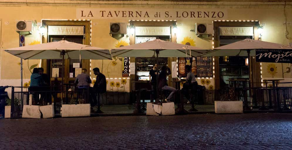 Ristoranti a roma san lorenzo conosci questi locali for Nomi di locali famosi