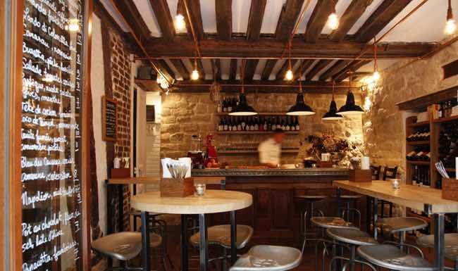 Ristoranti classici a roma for Arredamento enoteca wine bar